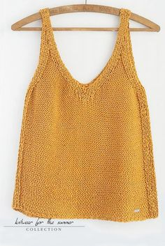"""knitwear for the summer"". Sweater Knitting Patterns, Loom Knitting, Knitting Projects, Summer Knitting, Summer Tops, Crochet Clothes, Lana, Knitwear, Knit Crochet"