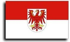 Brandenburg - German State Flag 3'x5' Nylon . $49.00