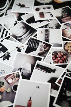 Polaroidfoto's..om vrolijk van te worden