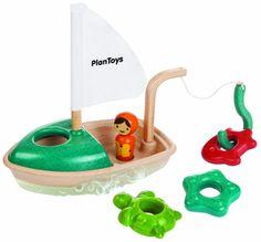 Plan Toys - Bateau de pêche pour le bain - Bois - PT5693: Amazon.fr: Jeux et Jouets