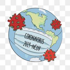 Ncov danger coronavirus health earth human epidemic pneumonia virus vector illustration PNG and Vector Medical Illustration, Cute Illustration, Free Vector Graphics, Vector Art, Hand Washing Poster, First Aid For Kids, Calendar Design Template, Art Beat, Christmas Border