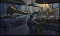 Jurassic Park by KenanJ.deviantart.com on @DeviantArt