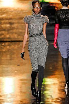 Badgley Mischka Fall 2011 Ready-to-Wear Fashion Show - Aminata Niaria