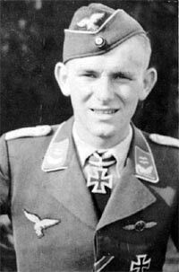✠ Herbert Huppertz (3 June 1919 – 8 June 1944) Shot down by US fighters near Cintheaux in the Caen area. RK 30.08.1941 Leutnant Flugzeugführer i. d. 12./JG 51 24.06.1944 [512. EL] Hauptmann Kdr III./JG 2