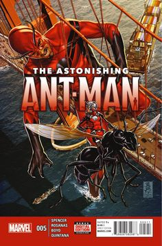 Preview: Astonishing Ant-Man #5, Story: Nick Spencer Art: Annapaola Martello Covers: Mark Brooks & Michael Cho Publisher: Marvel Publication Date: February 24th, 2016 Price: ...,  #All-Comic #All-ComicPreviews #ANNAPAOLAMARTELLO #AstonishingAnt-Man #Comics #MarkBrooks #Marvel #NickSpencer #previews