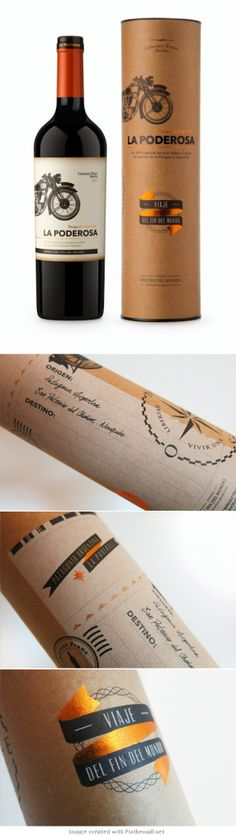 La Poderosa | #wine #packaging #design