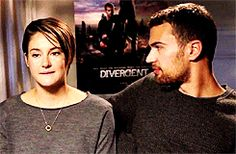 Shai wants Theo (que biting lips) and Theo knows it ( big satisfied smile)