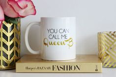 """You can call me Queen B."" Perfect for any gossip girl fan who, like myself, believes Blair Waldorf is her spirit animal, and of course that she is the original Queen B. Everyone knows good minions are so hard to find...this coffee mug by TheTrendySparrow will help them realize you're the new Queen B. Click the photo to purchase this fabulous mug! ($17)"