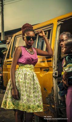 The Hustle. Nigerian art director Daniel Emeka and photographer Timmy Davies.
