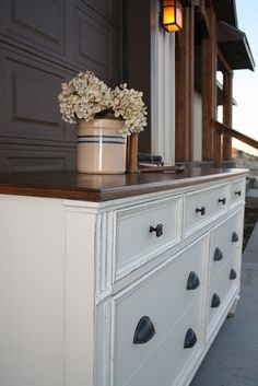love love love this dresser refurb!