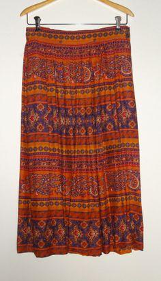 Native Sunset Skirt