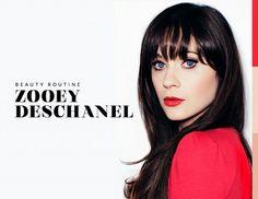 Zooey Deschanel's Beauty Routine
