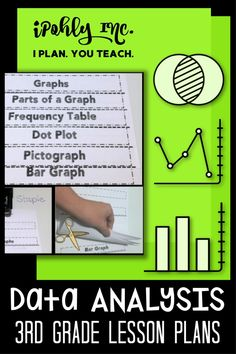 #3rdgrade teachers, you have all summer to get ready for next year!  #Classroom setup, #lessonplanning, #organization... Let me take something off your plate and plan your math class! This Data Analysis unit plan includes #worksheets, #games, #stations, #activities, #centers and more. Standards are even listed for each unit to save you even more time!  Check out ipohlyinc.com for more amazing #guidedmath lessons! #dataanalysis #graph #flipbook Problem Solving Activities, Teaching Activities, Classroom Activities, Math Lesson Plans, Math Lessons, Classroom Setup, Math Classroom, 3rd Grade Math Worksheets, Teaching Multiplication