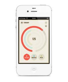 BloodNote - mobile app on App Design Served