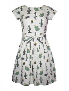 Run and Fly Cactus Dress