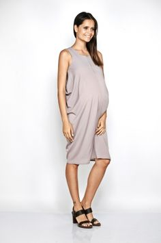 Imanimo maternity blush Zoe dress