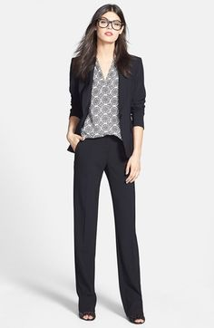 This is one of my favorite work suits and it's on sale now during Nordstrom's Anniversary Sale of all new pre-fall and fall products!