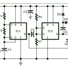 12vdc mobile battery charger circuit diagram can delivers up to 20 v rh pinterest com Small Battery Load Tester Small Battery Load Tester