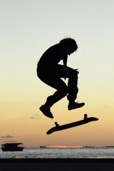 Kick flip #skateboarding  #silhouette Skate Gif, Skateboarding, Surfing, Kicks, Silhouette, Wallpapers, Free, Style, Swag