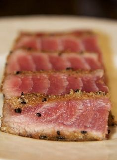 Seared Ahi Tuna!