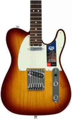 fender american elite telecaster - rosewood fretboard, tobac