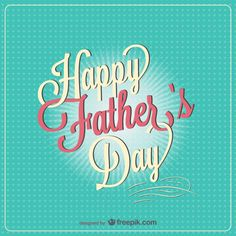 wishes you all a very happy father's day!