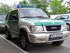 Opel Monterey Polizei