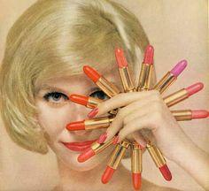 1960s Lipstick advertisement vintage ad