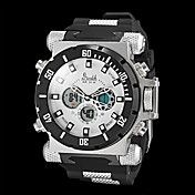 Men's Japanese Quartz Analog-Digital Alarm/Calendar/Chronograph/Water Resistant/LCD/Dual Time Zones Military Watch. Get incredible discounts up to 60% Off at Light in the Box using Coupon and Promo Codes.