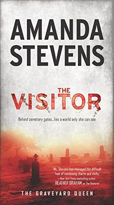 The Visitor (The Graveyard Queen Book 4) by Amanda Stevens  My Opinion-This one isn't as dark as the first three, but it is just as mysteries. There is a creepy factor and a new mystery is born. We begin to see the heartache of Devlin pulling away from Amelia. Amelia gets stronger in her abilities. 'The Sinner' is the next book. https://www.amazon.com/dp/B0166B9IAE/ref=cm_sw_r_pi_dp_2ePLxbNZWGN1T
