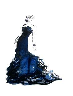 Etsy Fashion Watercolor Prints-Sooo Fancy
