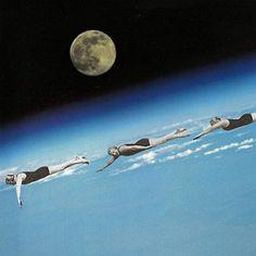 Swim me to the moon