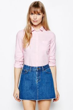 The Southbrook Oxford Shirt British Style, Denim Skirt, Oxford, Mens Fashion, Jack Wills, Blouse, Skirts, Shopping, Tops