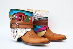 DIY BoHo boots!