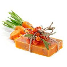 Carrot Cold Process Soap Recipe | Nature's Garden --using baby food for purée GENIUS