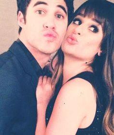Darren Criss & Lea Michele. My main celebrity crushes.
