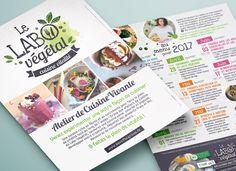 Environnement : promotion des initiatives, locales ou plus lointaines Le Labo, Event Ticket, Promotion, Menu, Kitchen Workshop, Advertising Agency, Environment, Menu Board Design
