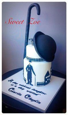Charlie Chaplin Cake - Cake by Dimitra Mylona - Sweet Zoe