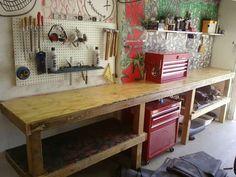 organized workbench