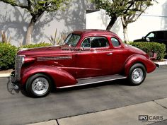 1937 Chevrolet Business Business Coupe Coupe Hot Rod - Car Photo and Specs Fancy Cars, Cool Cars, Hot Rods, Vintage Cars, Antique Cars, Volkswagen, Toyota, Old American Cars, Automobile