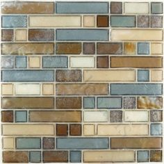 """Tiles are handmade, chipped corners are expected. Sheet size: 12 5/8"""" x 12 5/8"""" Tile Size: Unique Shapes Tiles per sheet: 72 Tile thickness: 1/4"""" Grout Joints: 1/8"""" Sheet Mount: Plastic Face Sold by the sheet"""