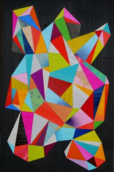 Geometric awesomeness / Rex Ray this actually kind of cool Modern Art, Contemporary Art, Design Art, Web Design, Graphic Design, Posca Art, Arte Pop, Art Abstrait, Geometric Shapes