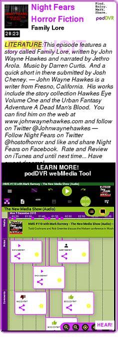 #LITERATURE #PODCAST  Night Fears Horror Fiction Podcast    Family Lore    LISTEN...  http://podDVR.COM/?c=fbfaefbb-d754-57ca-5c01-1ef1e3bd8b70