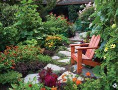 Cozy garden spot