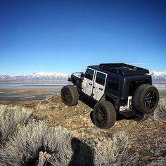@jonnyfiction  . . ------------------------------ #jeep #jeeplife #jeepporn #badass #jeepgirl #jeepnation #lifted #4x4 #offroad #jeepthing #jeepfamily #jeepfreaks #squat #flex #jeeppage #jeeps #jeepflow #sema #rubican #jeepin #merica #flex #stance #jeepers #big #rig #offroading by offroad.co