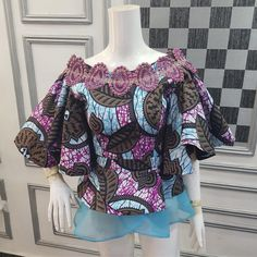 Checkout Statement Ankara Peplum Tops - Ankara collections brings the latest high street fashion online African Maxi Dresses, African Fashion Ankara, Latest African Fashion Dresses, African Print Fashion, African Attire, Ankara Peplum Tops, Ankara Blouse, Ankara Dress, African Print Dress Designs