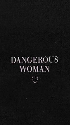 Wallpaper Lockscreen Ariana Grande ❤ DANGEROUS WOMAN