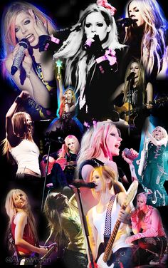 . @Avril Lavigne performing during the years 2002-2014 <3 pic.twitter.com/YYQmTJqSJs