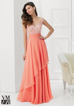 Dress for evening ware, cocktail dresses or social occasions by VM Collection Chiffon with Embroidery and Beading on Net Matching Stole. Available in Black/Nude, Tuquoise/Nude, Coral/Nude, Gold/Nude.