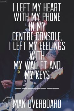 Love Your Friends, Die Laughing // Man Overboard